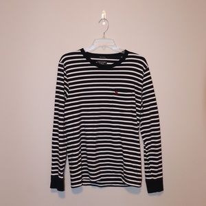 Abercrombie & Fitch striped long sleeve shirt